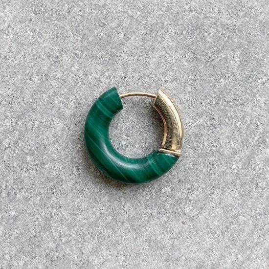 Rock hoop pierce