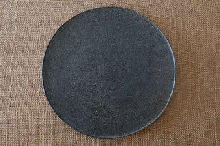 ブラックプレート皿(大)
