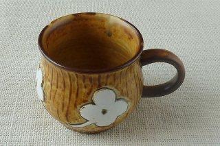 茶マグカップ b