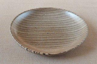 練りこみ 楕円鉢