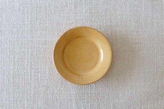 黄釉 小皿