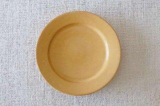 黄釉 5.5寸皿
