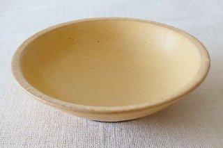 淡黄釉 7寸鉢