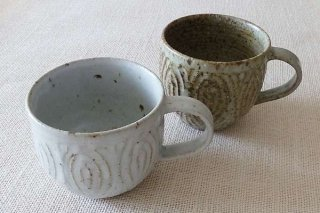 花紋 マグカップ