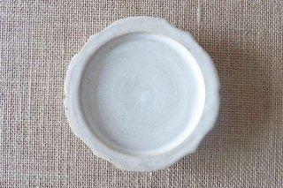 ホワイト 稜花豆皿