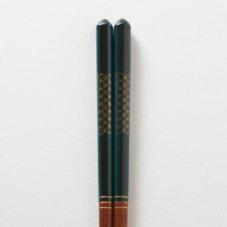慶 深緑 / すり漆先角