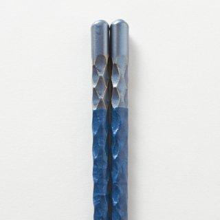 紗 青 / 亀甲彫り 和紙巻き