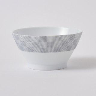 飯碗 美濃焼(深山) 銀灰