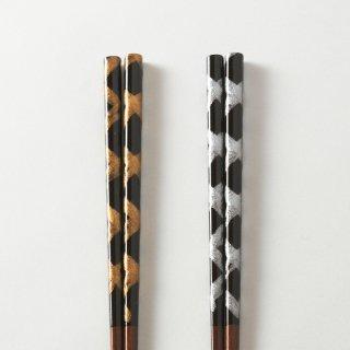 箸ペアセット  剣 / とんぼ玉あやとり