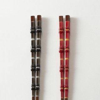 箸ペアセット  刃 / とんぼ玉かぐや