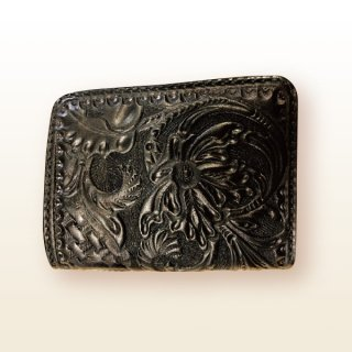 二つ折 財布 ウォレット 【カービング】
