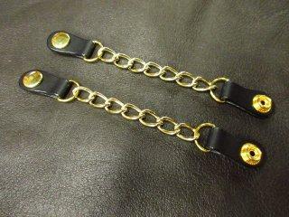 牛ヌメ革 ベストエクステンダー ゴールド色 2個セット