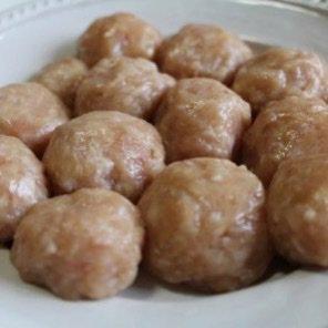 肉だんご(味噌汁、スープ、鍋用)