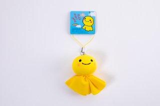 幸せの黄色いてるぼうストラップ