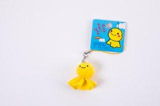 幸せの黄色いてるぼうミニストラップ
