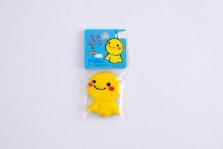 幸せの黄色いてるぼうラバーマグネット