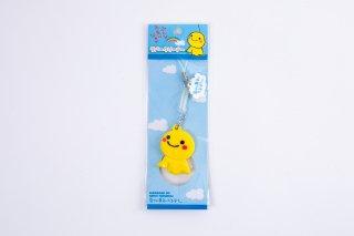 幸せの黄色いてるぼうラバークリーナーストラップ