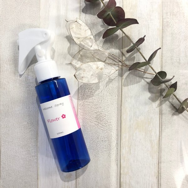 welcome spray〜Flower〜 100㎖