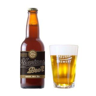 千葉ロッテマリーンズ70thビール / Marines Pale Ale 70th 6本セット オリジナプラカップ6個付き